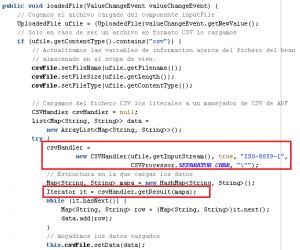Loadfile code fragment