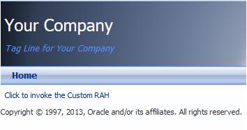 RAH Link to the custom resource