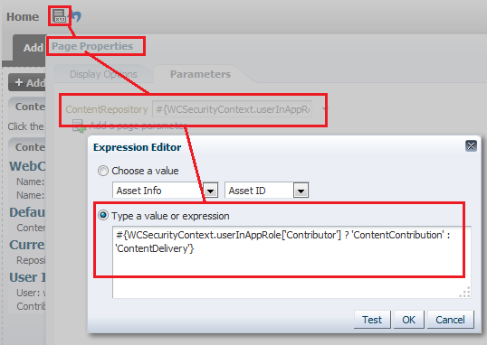 Page Properties calculating the Content Repository