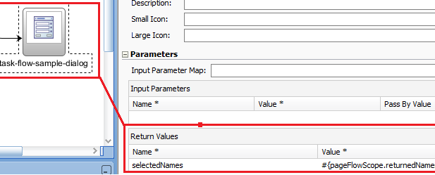 Mapping the Return Values in a TF Call